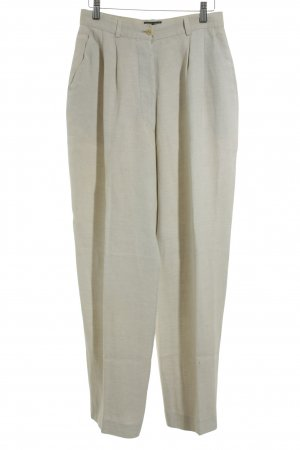 Armani Stoffhose hellbeige Business-Look