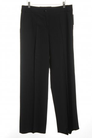 Armani Jersey Pants black business style