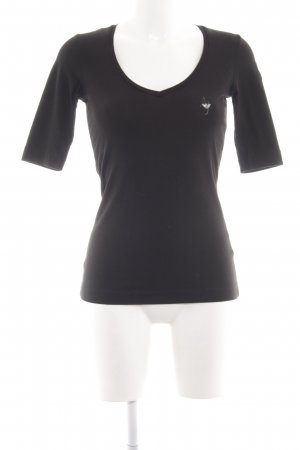 Armani T-Shirt black casual look