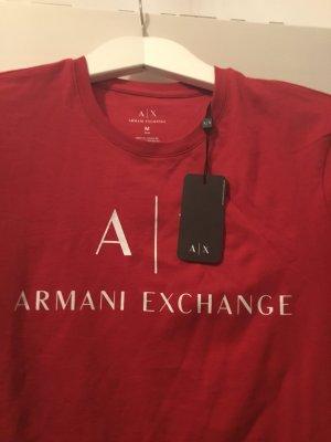 Armani Exchange T-shirt rosso