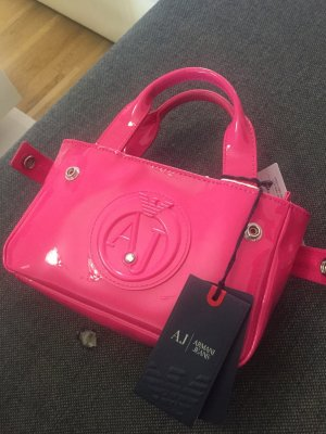 Armani Jeans Mobile Phone Case pink