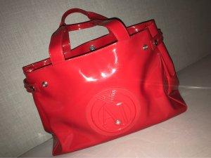 Armani Jeans Shopper rood