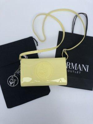 Armani Jeans Borsa a spalla giallo-giallo pallido