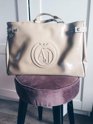 Armani Tasche neu nude beige Lack original Lackleder