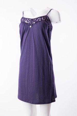 ARMANI - Trägerkleid mit Spitzenbesatz Violett