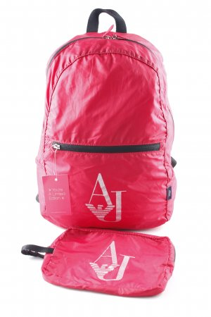 Armani Trekking Backpack red casual look
