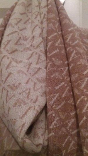 ARMANI TUCH/SCHAL braun beige