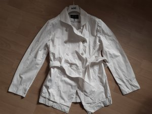 Armani Long Jacket white