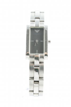 Armani Watch With Metal Strap silver-colored business style