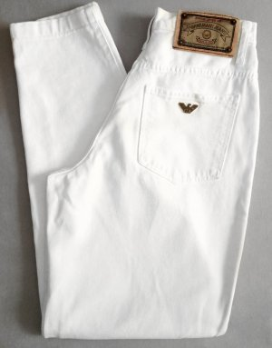 Armani Vintage Jeans Weiß Gr. 34