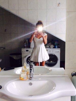 Armani weiß Kleid XS