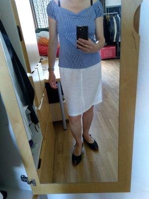 Armani Jeans Linen Skirt natural white