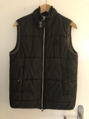 Armani Down Vest dark blue