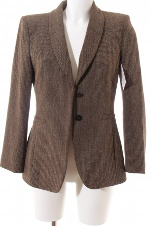 Armani Wool Blazer weave pattern retro look