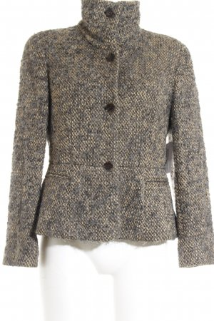Armani Wool Jacket beige-dark grey flecked classic style