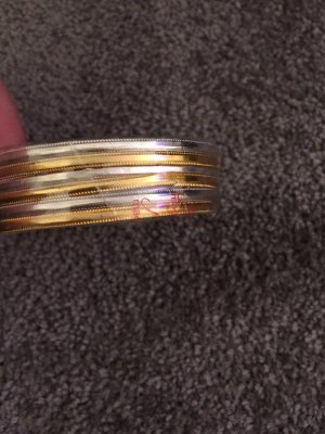 Bangle silver-colored-gold-colored