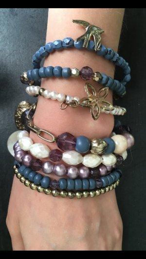 Armbänder blau 8 Stück