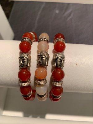 Armbänder elastisch mit Budda 3stück nie getragen