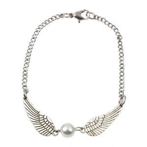 Armbänder Engelsflügel mit Perle neu