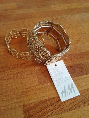 Armbänder goldfarben von H&M