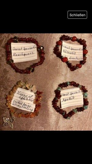 Armbänder - handgemacht - echte Edelsteine