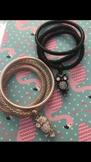 Armbänder in schwarz oder Gold