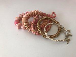 Armbänder rosa wie neu
