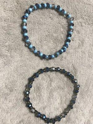 Bracelet gris-bleu clair