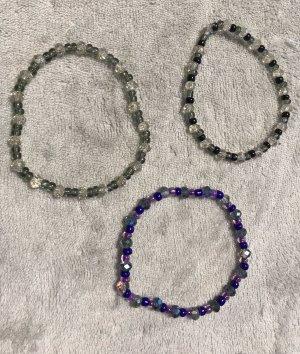 Bracelet gris-violet foncé