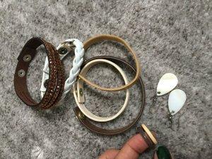 Armbänder5x Ring 2x und Ohrringe1x