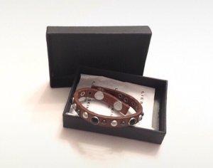 Liebeskind Berlin Leather Bracelet brown-black