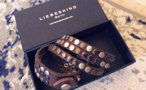 Liebeskind Berlin Leather Bracelet multicolored leather