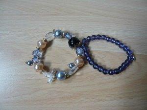 Armband, 2tlg., LBVYR, Modeschmuck,, bunt, neu