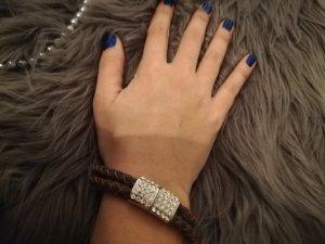 Bracelet silver-colored-bronze-colored