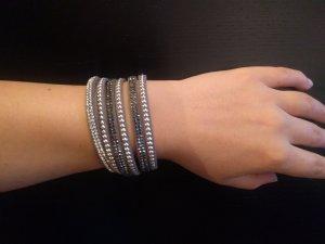 Bijou Brigitte Bracelet silver-colored-grey