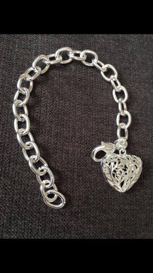 Armband 925 gestempelt mit Herz
