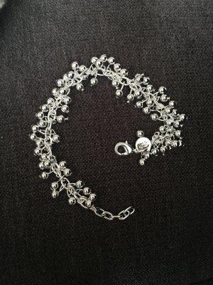 Armband 925 gestempelt mit Kügelchen