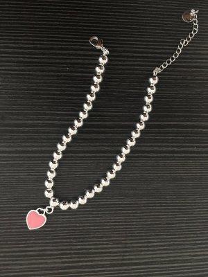 Armband 925 gestempelt mit mini Herz