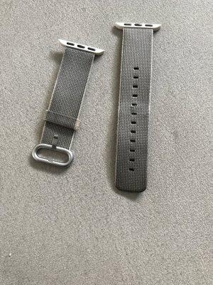 Horloge donkergrijs-zilver