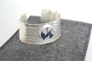 Armband Armreif Silber Faible for Label Plug Schmiedearmschmuck Jitterburg neu