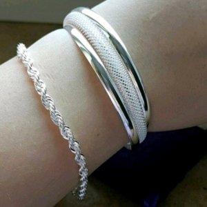 Armband Armspange Armreif in Silber wunderschön