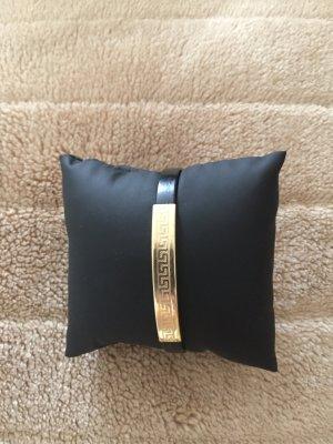 Armband aus 585 Gold mit Kautschuk