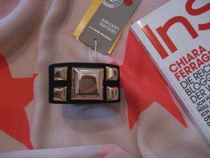 Armband aus echtem Leder mit goldenen Nieten von H&M *NEU*