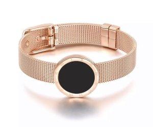 Armband aus Edelstahl Roségold Farbe Neu mit Verpackung
