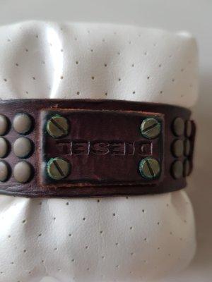 Armband aus Leder, dunkelbraun von Diesel