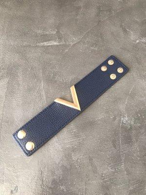 Armband donkerblauw-blauw