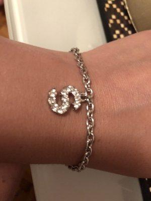 Armband Buchstabe S