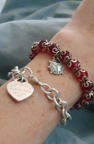 Armband charm Perlenarmband Glück Geschenk Weihnachtsgeschenk Glücksbringer
