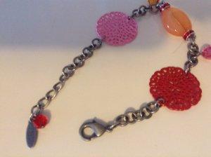 Armband Coeur de Lion,pink rot, neu