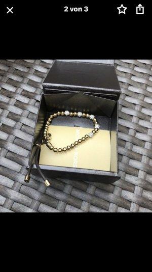 Michael Kors Gold Bracelet multicolored leather